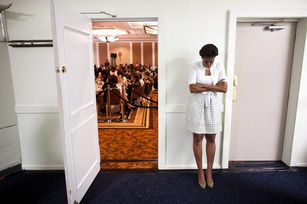 Dù phải chia tay thế nhưng người ta sẽ mãi nhớ về bà Michelle Obama với 30 hình ảnh này - Ảnh 17.