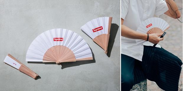 Có ai ngờ quạt giấy mà các cụ vẫn dùng nay lại là phụ kiện thời trang sang chảnh nhất hè này - Ảnh 8.