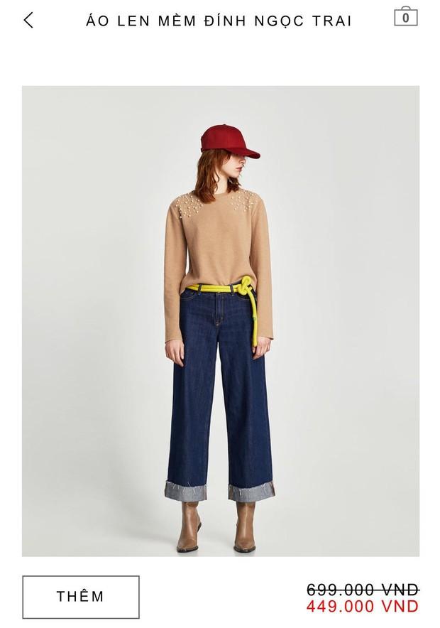 14 mẫu áo len, áo nỉ dưới 500.000 VNĐ trendy đáng sắm nhất đợt sale này của Zara - Ảnh 4.