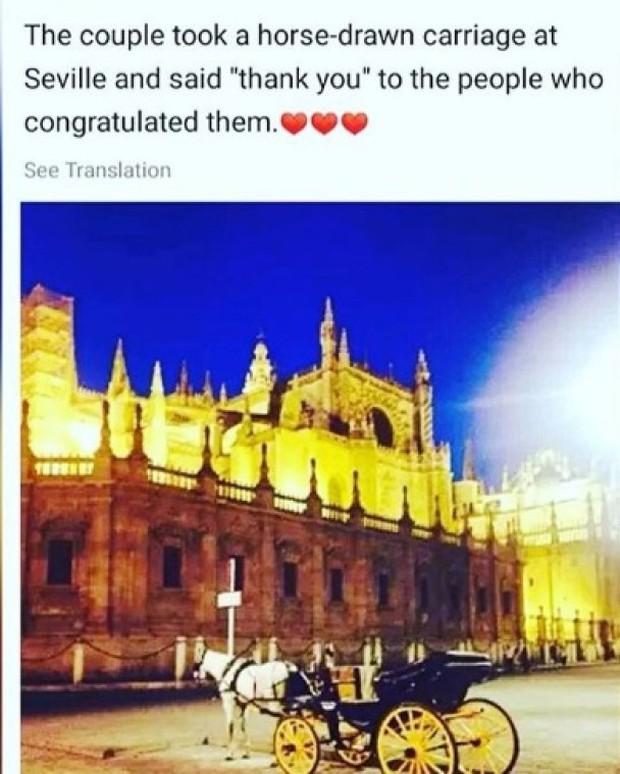 Fan tiết lộ vợ chồng Song Joong Ki - Song Hye Kyo tận hưởng tuần trăng mật siêu lãng mạn tại Tây Ban Nha - Ảnh 2.