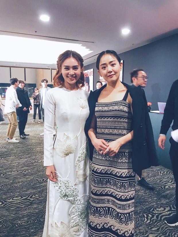 Đâu cần cầu kì hay hở bạo, chỉ cần mặc áo dài mà bộ tứ Cô Ba Sài Gòn cũng đủ gây ấn tượng tại LHP Busan - Ảnh 3.