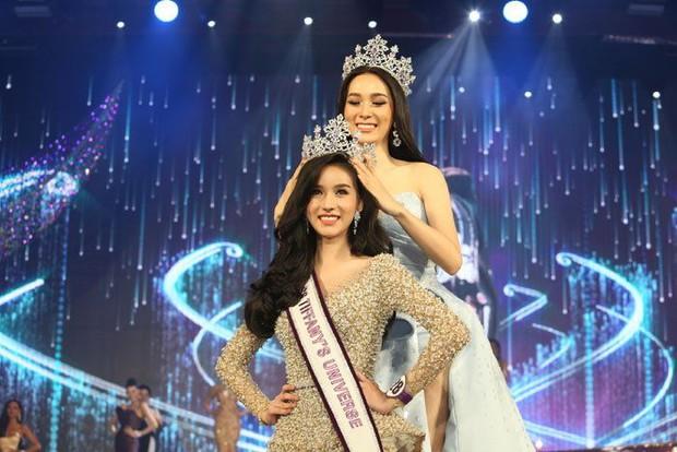 Hoa hậu chuyển giới Thái Lan 2017, Nong Poy, cựu Hoa hậu trong cùng một khung hình: Ai đẹp hơn? - Ảnh 1.