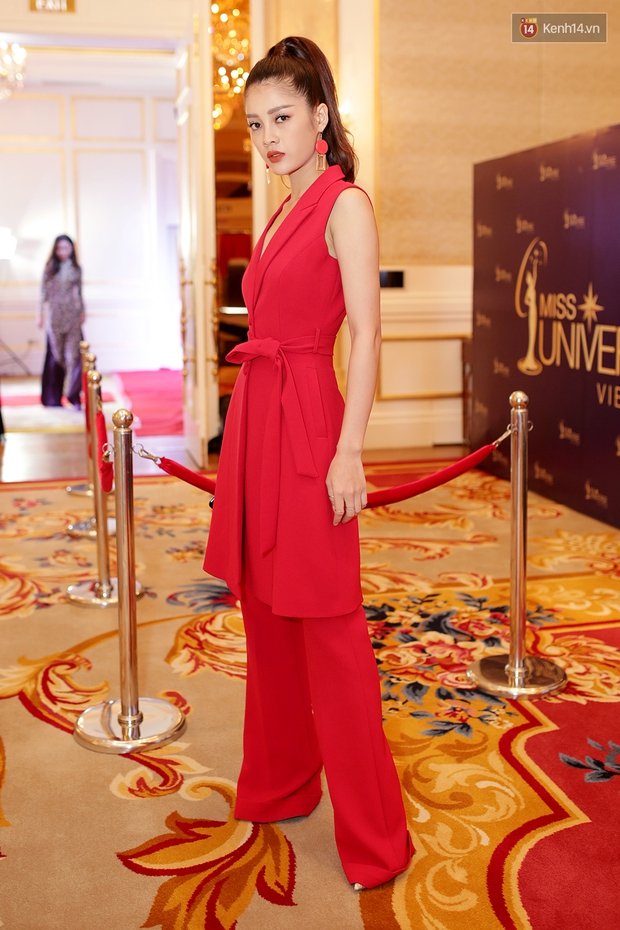Họp báo show thực tế Hoa hậu Hoàn vũ: Phạm Hương đọ sắc với Nữ hoàng sắc đẹp Mỹ Latinh - Ảnh 11.