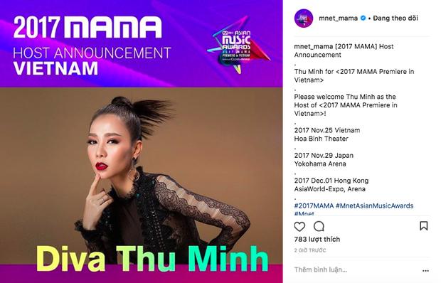 Không phải Ái Phương, đây mới là nghệ sĩ được MAMA 2017 chính thức chọn làm chủ xị tại Việt Nam - Ảnh 2.