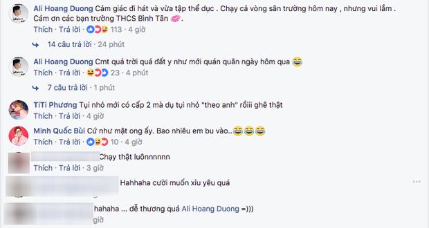 Clip vui: Ali Hoàng Dương đang hát thì bỏ chạy vòng vòng vì bị fan nhí rượt đuổi - Ảnh 2.