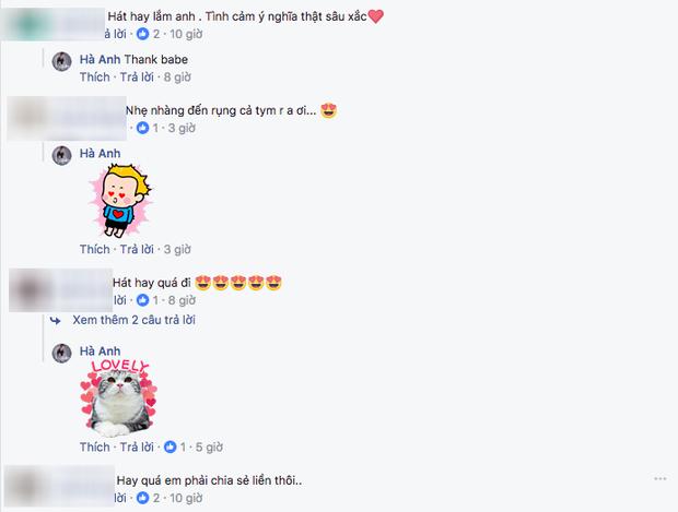 Hà Anh đốn tim fan nữ bằng bản cover ngọt lịm ca khúc hit mới của Lê Hiếu - Ảnh 2.