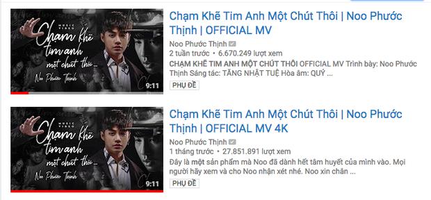 Chỉ vừa được thả cửa vài tiếng đồng hồ, MV của Noo Phước Thịnh tiếp tục bị gỡ bỏ trên kênh Youtube - Ảnh 2.