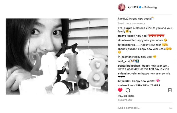 Sao Hàn mừng năm mới 2018: Vợ chồng Song Song rạng rỡ, Big Bang, Wanna One bận rộn đi diễn, Jessica sang hẳn Trung Quốc - Ảnh 3.