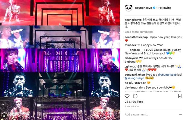 Sao Hàn mừng năm mới 2018: Vợ chồng Song Song rạng rỡ, Big Bang, Wanna One bận rộn đi diễn, Jessica sang hẳn Trung Quốc - Ảnh 13.