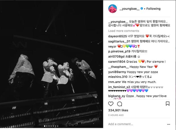 Sao Hàn mừng năm mới 2018: Vợ chồng Song Song rạng rỡ, Big Bang, Wanna One bận rộn đi diễn, Jessica sang hẳn Trung Quốc - Ảnh 11.