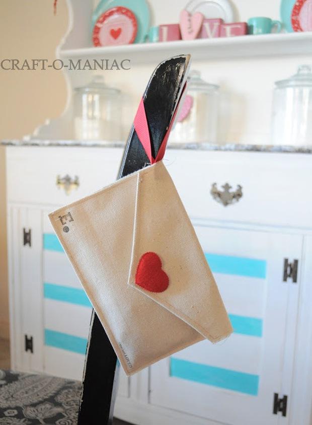 Làm phong bì vải dễ thương trao gửi thông điệp yêu thương ngày Valentine - Ảnh 9.