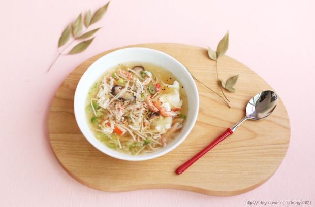 Cuối tuần rảnh rảnh làm súp cua nóng hổi theo cách của người Nhật - Ảnh 10.