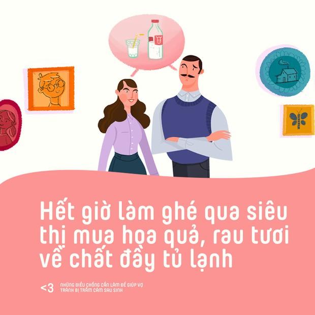 Những điều chồng cần làm để giúp vợ phòng tránh bị trầm cảm sau sinh - Ảnh 2.