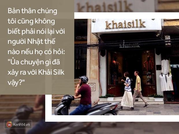 """Người Việt ở nước ngoài nói về """"lụa Tàu"""" Khaisilk: Niềm tin và sự tự hào về một thương hiệu lụa do người Việt làm ra đã sụp đổ sau một đêm - Ảnh 4."""