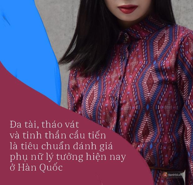 Người phụ nữ lý tưởng trong mắt nam giới Hàn Quốc: Đa tài giỏi giang, hờn dỗi cũng phải thông minh! - Ảnh 2.