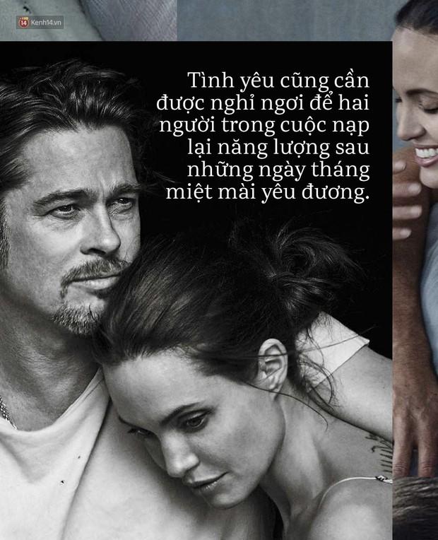 Tình yêu cũng cần một kỳ nghỉ, giống như cách Angelina Jolie và Brad Pitt đã làm để lại được ở bên nhau lần nữa - Ảnh 3.
