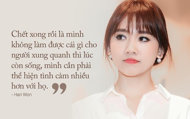 Hari Won: Anh Thành đùng một cái cầu hôn, mà lúc đó có nhiều người quá, mình từ chối cũng… kỳ - Ảnh 4.