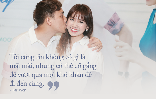 Hari Won: Anh Thành đùng một cái cầu hôn, mà lúc đó có nhiều người quá, mình từ chối cũng… kỳ - Ảnh 5.