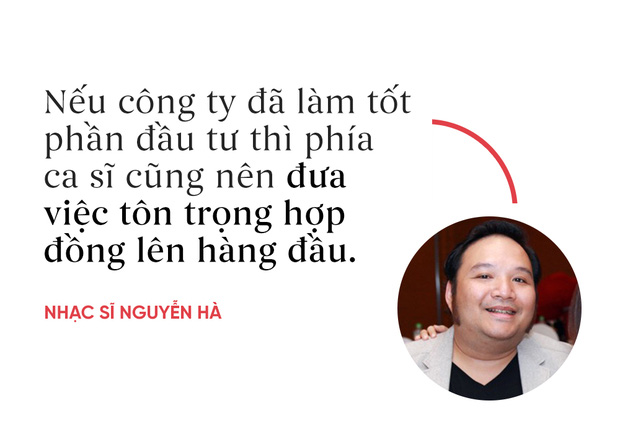 Nhạc sĩ Nguyễn Hà: Khi ký hợp đồng, các ca sĩ có thể bị qua mặt do chưa có kinh nghiệm - Ảnh 2.