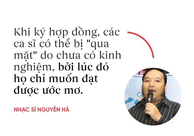 Nhạc sĩ Nguyễn Hà: Khi ký hợp đồng, các ca sĩ có thể bị qua mặt do chưa có kinh nghiệm - Ảnh 4.