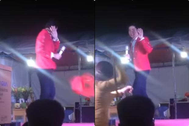 Ca sĩ Lưu Chí Vỹ bị bầu show chửi thẳng mặt, khán giả tạt nước đuổi đánh vì đến địa điểm biểu diễn trễ 2 tiếng - Ảnh 2.