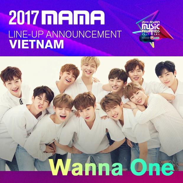 WANNA ONE và SEVENTEEN được Mnet xác nhận biểu diễn tại MAMA 2017 ở Việt Nam! - Ảnh 1.