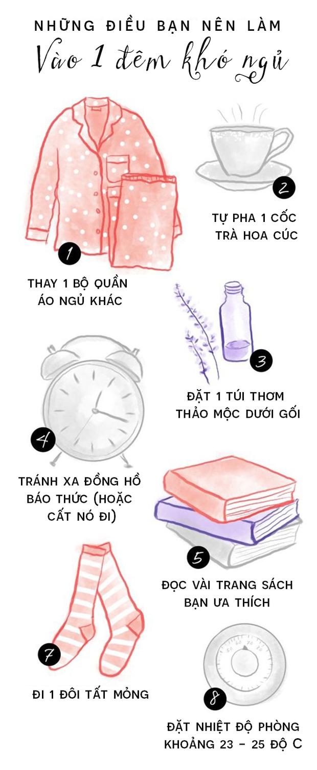 Đây là những điều bạn nên làm vào 1 đêm khó ngủ - Ảnh 1.