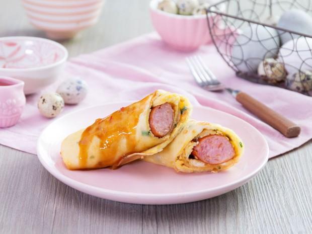 Ăn bánh tráng cuộn trứng theo kiểu Đài Loan, hay ho từ lúc làm cho đến lúc ăn - Ảnh 10.