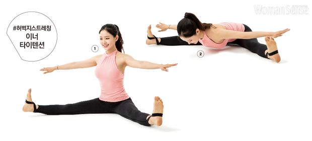 Huấn luận viên Hàn Quốc hướng dẫn bài tập Pilates cơ bản tại nhà mà hiệu quả không ngờ - Ảnh 2.