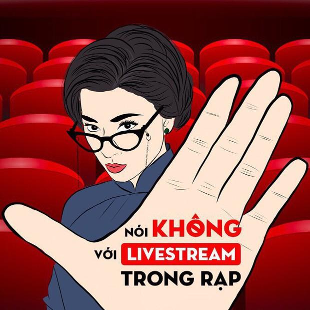 Clip: Khán giả nhìn nhận thế nào về hành vi livestream lậu phim Cô Ba Sài Gòn - Ảnh 1.