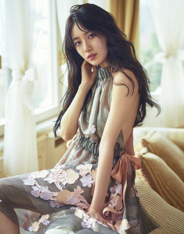 Chỉ bằng một bức hình hậu trường khoe lưng trần, Suzy đã khiến fan hoàn toàn đổ gục - Ảnh 5.