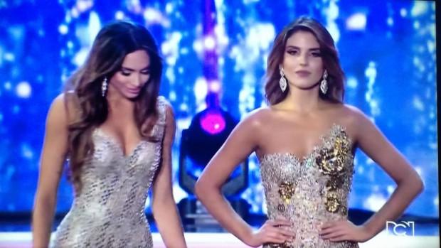 Á hậu Colombia lộ biểu cảm đanh đá khi thua cuộc trong đêm chung kết - Ảnh 3.