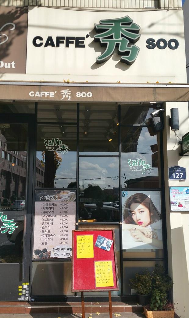 Tới Hàn Quốc, muốn gặp thần tượng không đâu dễ bằng đến chính quán cafe do họ mở! - Ảnh 34.