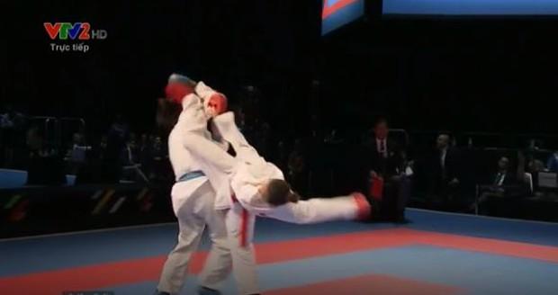 Trọng tài xử ép, võ sĩ Việt Nam vẫn giành HC vàng kịch tính - Ảnh 2.