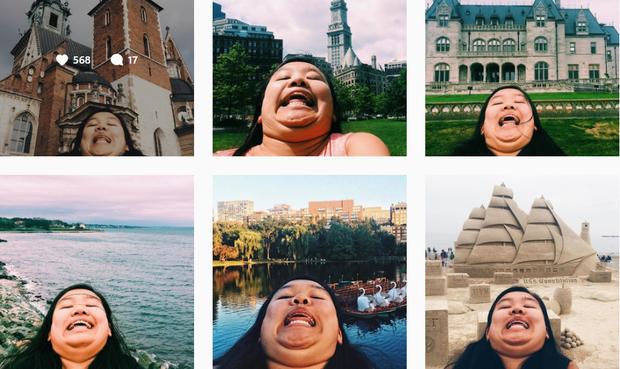Cằm 2 ngấn đi khắp thế giới: Bộ ảnh du lịch độc đáo của cô nàng mập mà vẫn tấp nập người theo dõi - Ảnh 6.