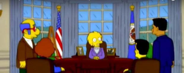 7 lần bộ phim Gia đình Simpson tiên đoán đúng đến rùng mình các sự kiện tương lai: Từ Tổng thống Donald Trump tới Disney mua lại hãng Fox - Ảnh 7.