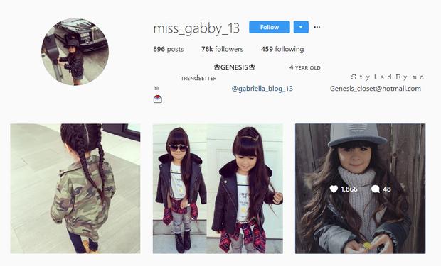Chân dung những hot kid Instagram, chưa tròn 10 tuổi đã trở thành sao nhí với lượng người theo dõi ai cũng mơ ước - Ảnh 14.