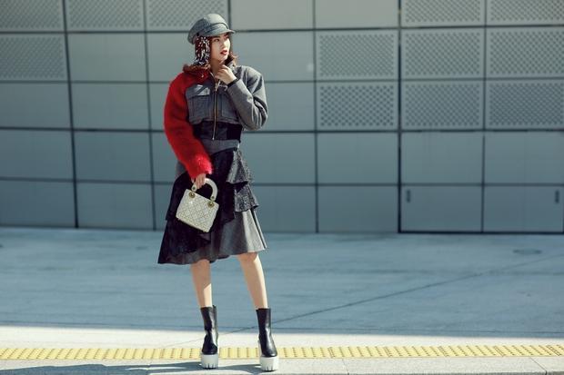 Ninh Dương Lan Ngọc quái đến không nhận ra, Hoa hậu Jolie Nguyễn sexy tại Seoul Fashion Week - Ảnh 1.