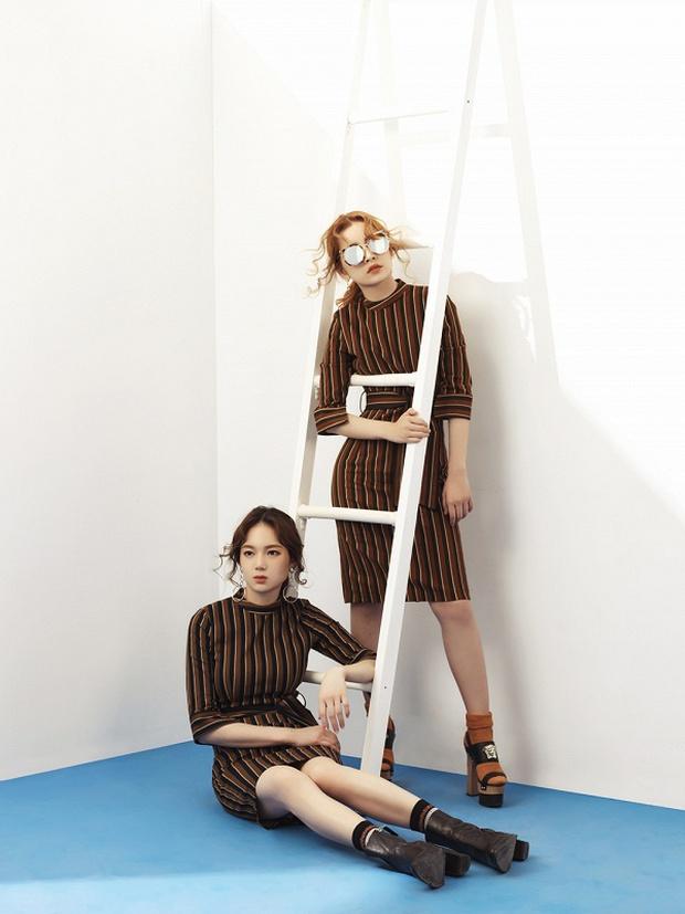 Chi Pu chuyển ngạch sang nghề thiết kế, rủ Á hậu Hàn Quốc cùng đóng clip thời trang - Ảnh 3.