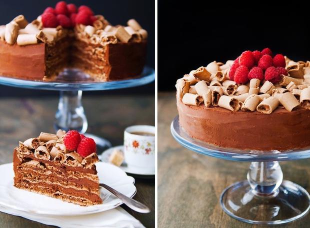 Bánh gateaux chocolate giòn tan lạ miệng chẳng cần đến bột mì - Ảnh 9.