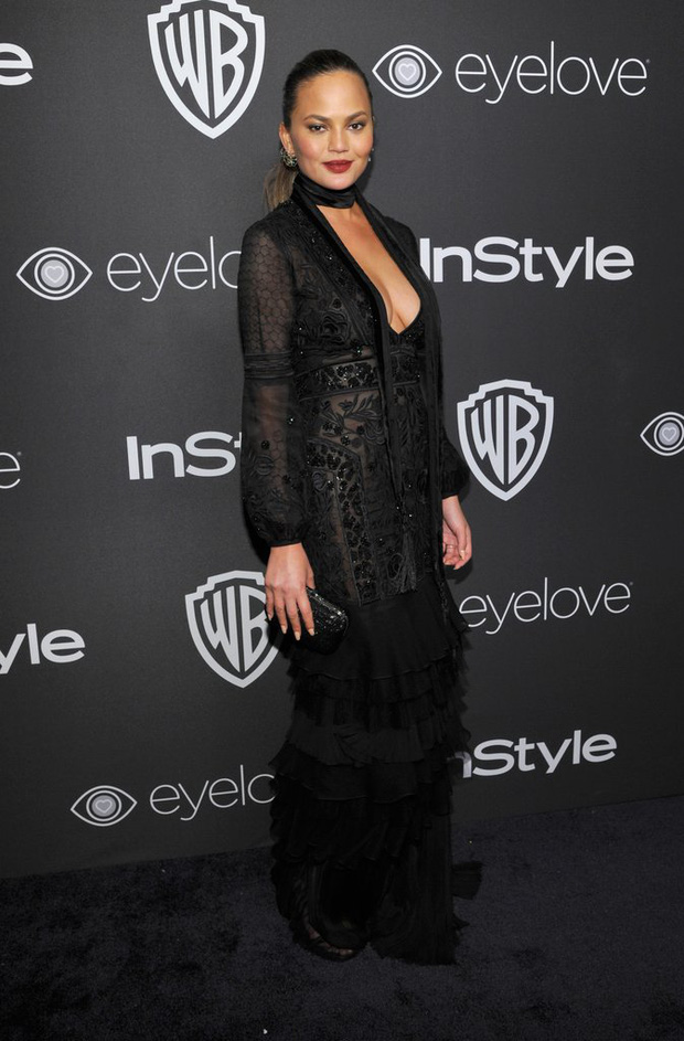 Hậu Quả Cầu Vàng: Miranda Kerr trễ nải sexy, mỹ nhân Blurred Lines hớ hênh trên thảm đỏ - Ảnh 18.