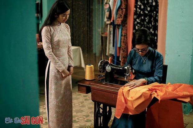 Học may áo dài theo bí kíp như cao thủ võ lâm trong Cô Ba Sài Gòn - Ảnh 3.