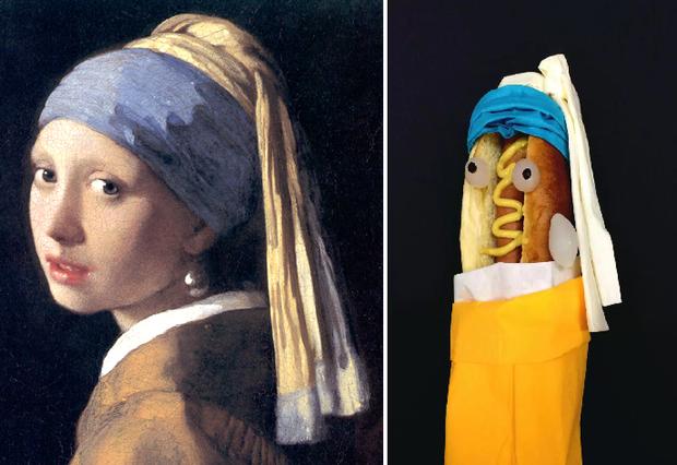 Bộ sưu tập bánh mì kẹp xúc xích cosplay thành các nhân vật nổi tiếng - Ảnh 1.