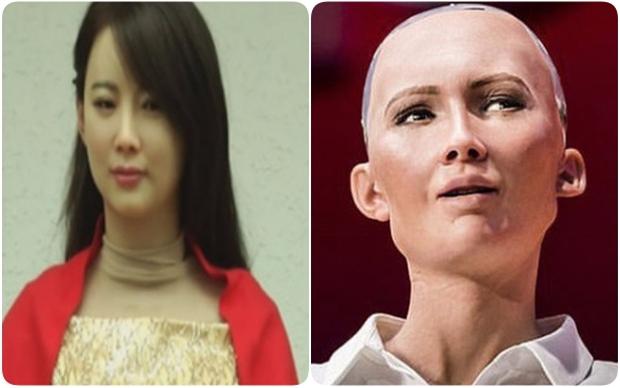 Khuôn mặt thô và xấu của công dân robot Sophia là có chủ đích! Lý do là... - Ảnh 1.