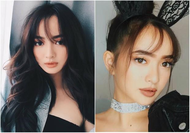 Xoã tóc che mặt tròn, mặt vuông: Hot girl nào nhìn khác biệt nhất - Ảnh 1.