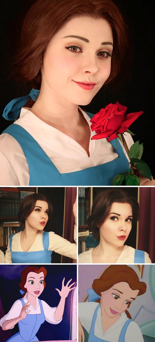 Thánh nữ cosplay người Nga này có thể hóa thân thành bất cứ ai, ngoại hình của cô ấy sẽ khiến bạn bất ngờ - Ảnh 9.