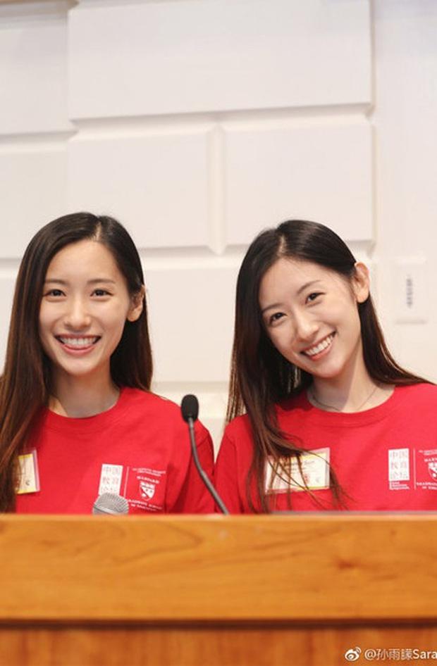 Cặp song sinh Trung Quốc đã xinh lại còn giỏi nổi tiếng vừa tốt nghiệp thạc sĩ Giáo dục ở Harvard - Ảnh 3.