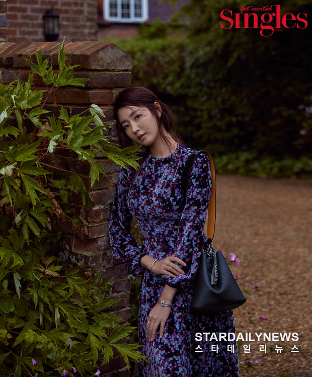 Hoa hậu ngực khủng Kim Sarang trên bìa tạp chí: Quá nóng bỏng và lộng lẫy như bà hoàng - Ảnh 5.