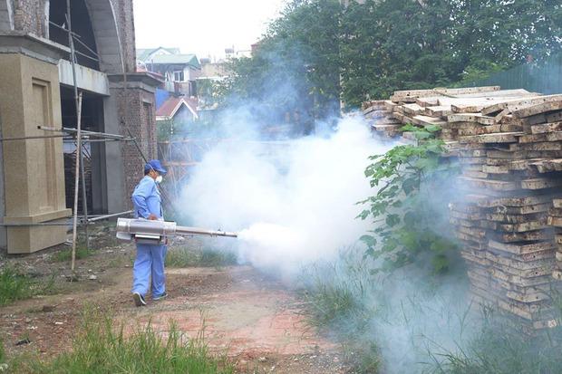 12 quận, huyện Hà Nội báo động đỏ dịch sốt xuất huyết: Đến từng nhà phun thuốc diệt muỗi, bọ gậy - Ảnh 5.