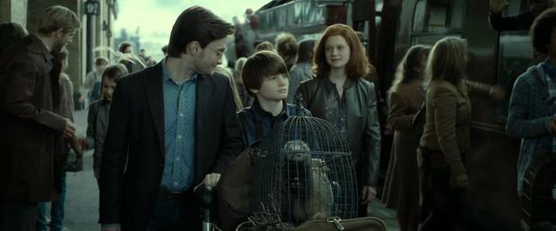 Fan khắp thế giới kỷ niệm ngày sau 19 năm, Harry Potter đưa các con lên tàu tốc hành trở lại Hogwarts - Ảnh 3.